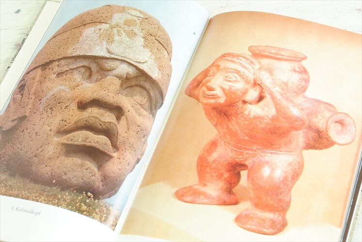 ドイツ インゼル文庫 575番 メキシコ古代工芸 芸術 写真集 洋書 アンティークブック Insel ディスプレイ 古書 本