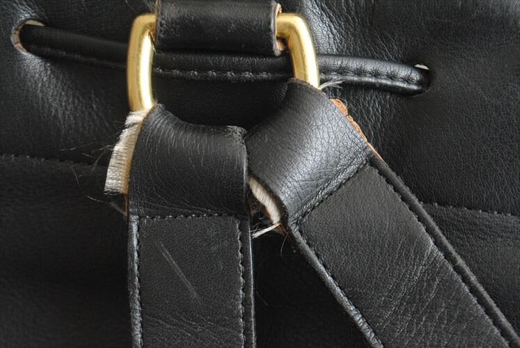 USA製 COACH オールドコーチ レザー リュック バックパック 本革 ブラック 黒色 メンズ コーチ レディース