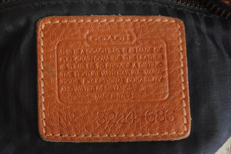 イタリア製 COACH オールドコーチ ショルダーバッグ 本革 レザー コーチ ブラウン 茶色 レディース メンズ