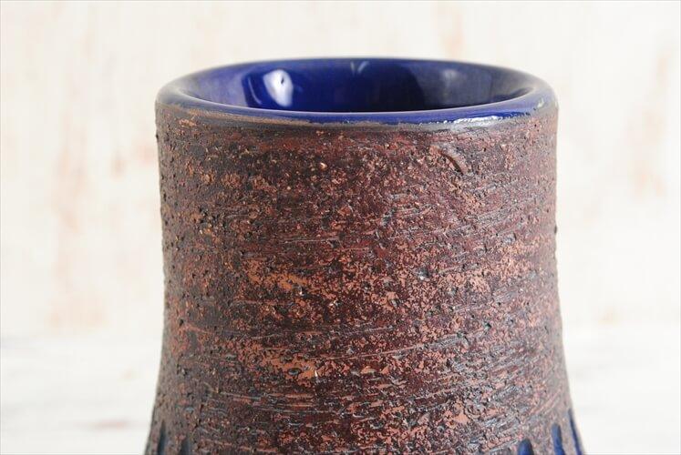 スウェーデン製 ヴィンテージ GABRIEL 陶器の花瓶 ガブリエル 北欧 花器 一輪挿し ミッドセンチュリー期 アンティーク