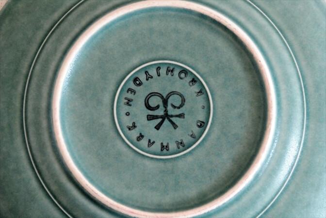デンマーク製 クイストゴー アズール 17cm プレート Azur クロニーデン KRONJDEN J.H.Quistgaard 北欧 ヴィンテージ アンティーク