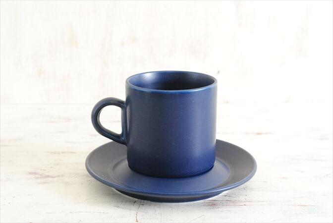 ARABIA アラビア ブルース コーヒーカップ&ソーサー BLUES 北欧食器 フィンランド 陶器 北欧 ヴィンテージ アンティーク