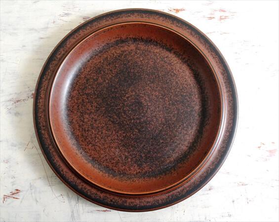 ARABIA アラビア ルスカ 大皿 33cm プレート Ruska 北欧食器 プラター フィンランド 陶器 北欧 ヴィンテージ アンティーク