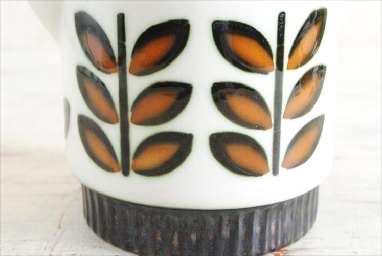 訳あり 1960年代 BOCH ボッホ RAMBOUILLET コーヒーポット ピッチャー ジャグ ランブイエ 磁器 アンティーク