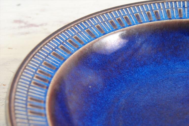 Upsala Ekeby Gefle Kosmos 19cm ディーププレート 深皿 ウプサラエクビー ゲフレ 北欧食器 磁器 陶器 アンティーク