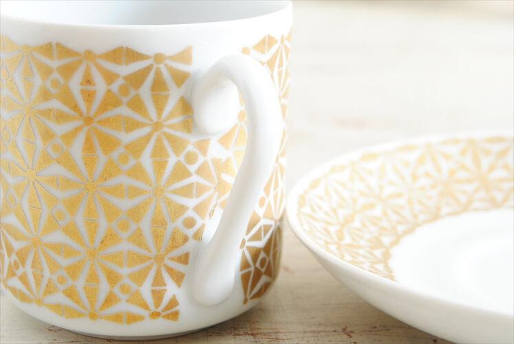 ARABIA アラビア HAAREMI デミタスカップ&ソーサー ハーレミ コーヒー 北欧食器 フィンランド 陶器 ヴィンテージ アンティーク