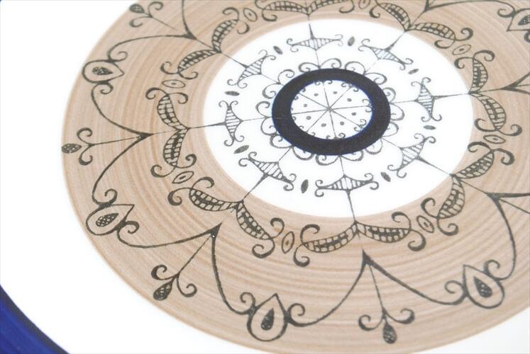 スウェーデン Gefle AURORA 19cm プレート お皿 ゲフレ オーロラ 北欧食器 磁器 陶器 アンティーク
