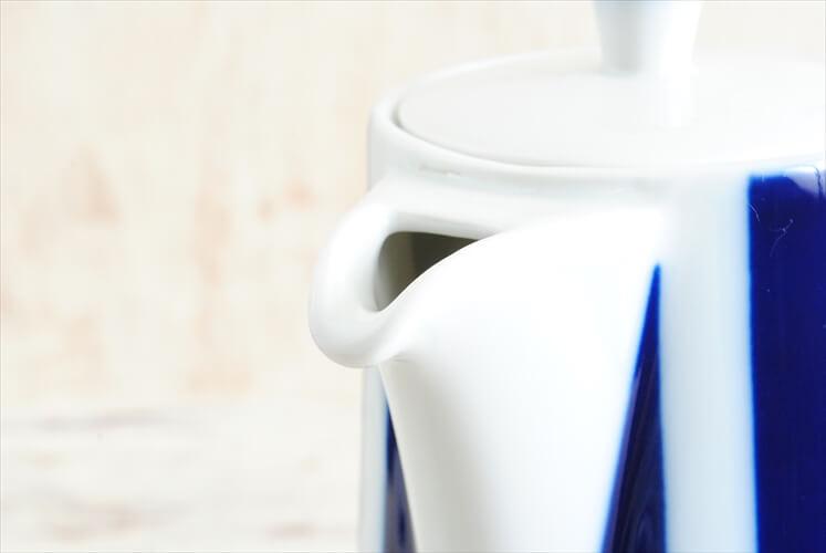 デンマーク製 Lyngby Porcelain Dan-ild コーヒーポット リュンビューポーセリン 陶磁器 北欧食器 ヴィンテージ アンティーク