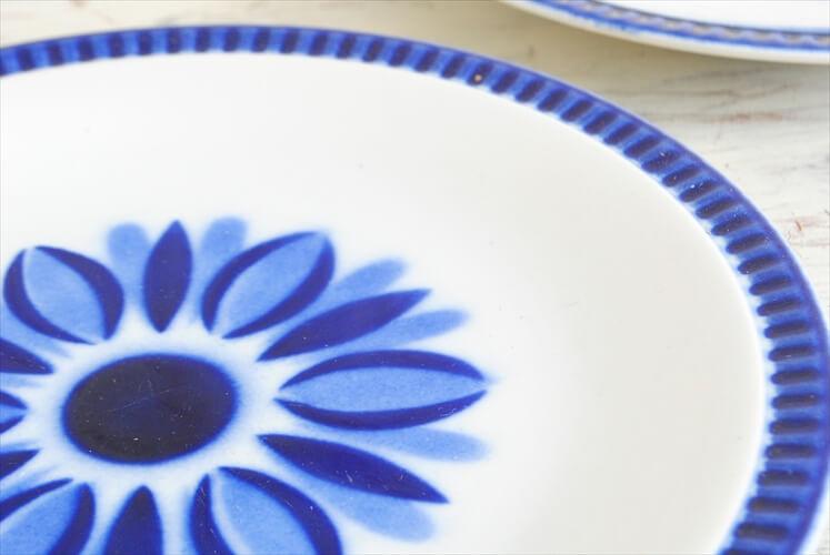 ベルギー製 BOCH ボッホ 19cm プレート DELTA CAPRICCIO カプリシオ お皿 デザートプレート ヴィンテージ 食器 アンティーク