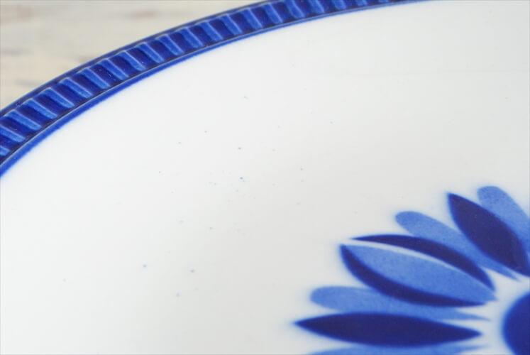 ベルギー製 BOCH ボッホ 23cm プレート DELTA CAPRICCIO カプリシオ お皿 ディナープレート ヴィンテージ 食器 アンティーク