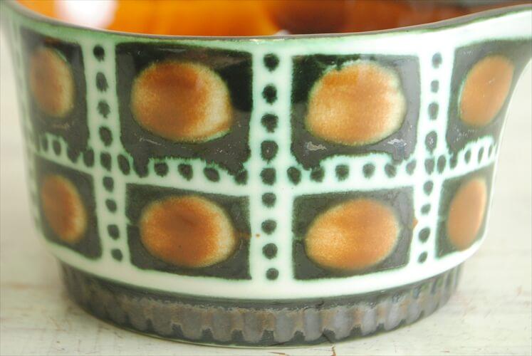 ベルギー製 BOCH Bernadette ソースパン ボッホ ベルナデッタ ポット 磁器 ヴィンテージ アンティーク