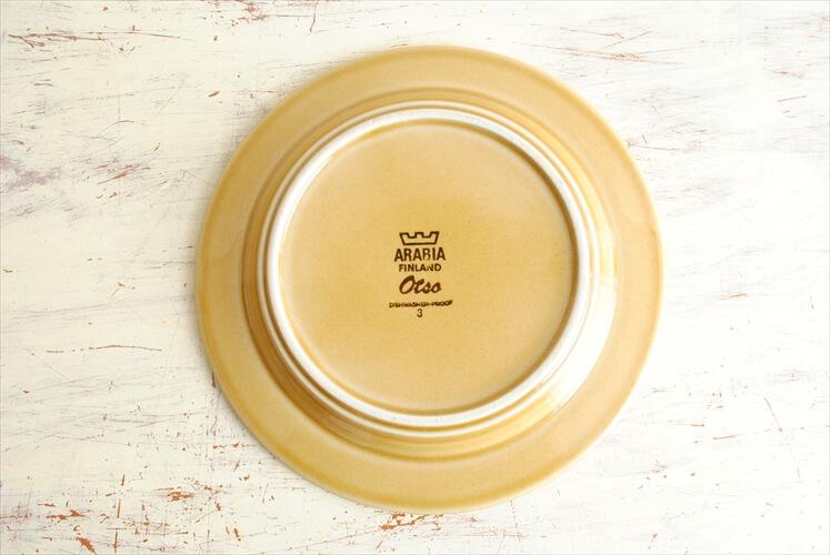 ARABIA アラビア Otso 17cm プレート オツソ デザート ケーキプレート 北欧食器 フィンランド ヴィンテージ アンティーク